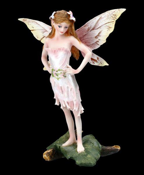 Fairy Figurine - Rosalie in Rose Dress