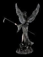 Großer schwarzer Todesengel mit Sense - Immortal Death