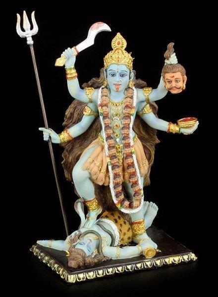 Kali Figurine - Hindu Goddess