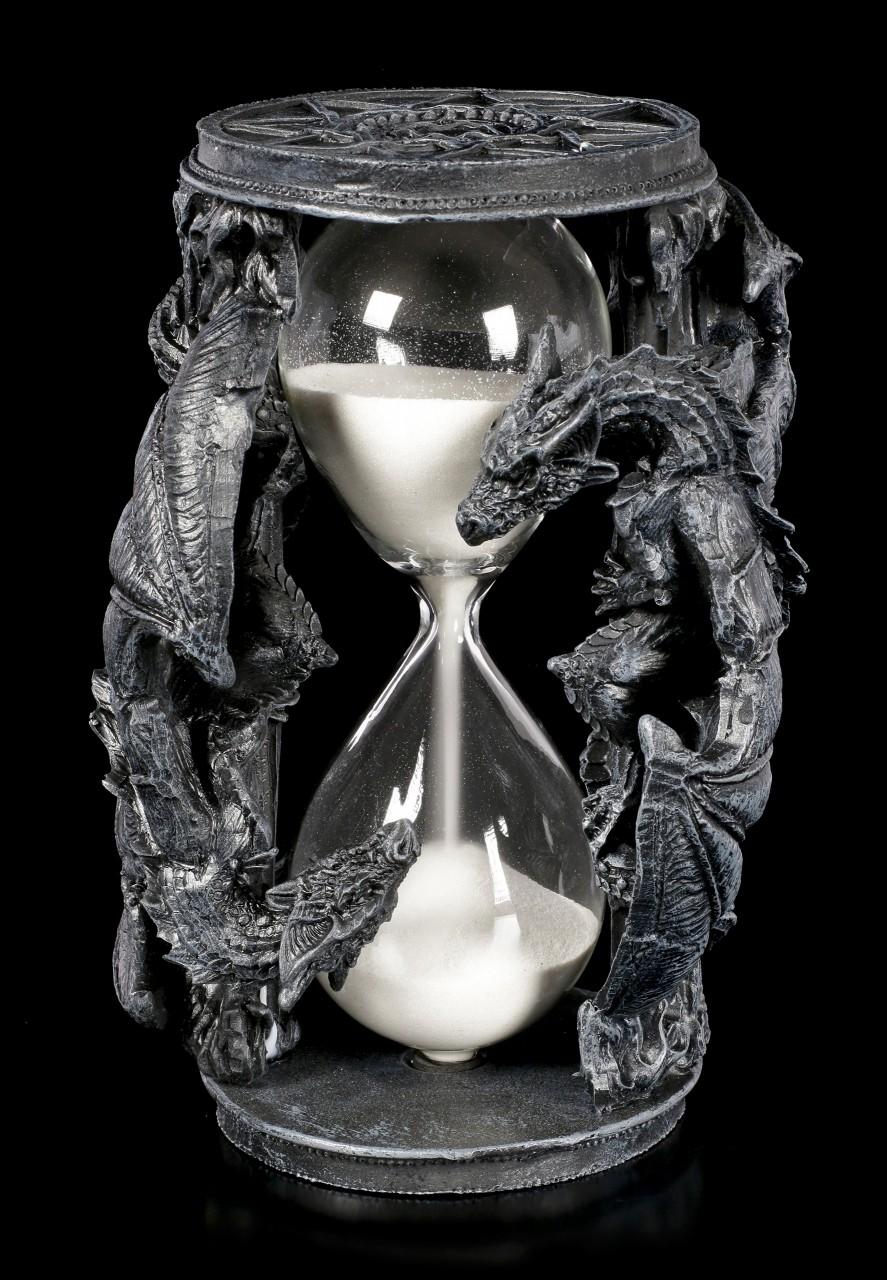 Drachen Sanduhr - Time Flies Away