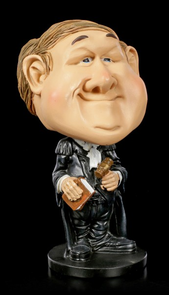 Funny Job Figurine - Bobblehead Lawyer