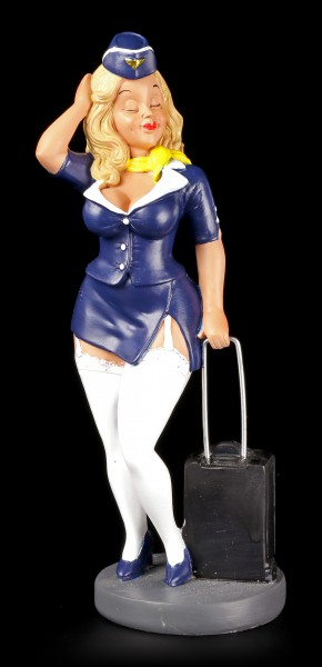 Funny Job Figurine - Stewardess