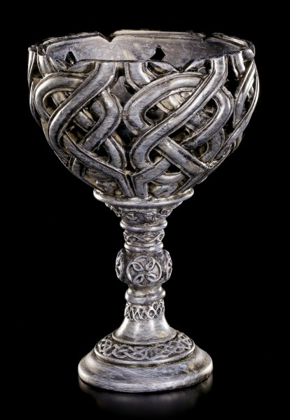 Keltischer Teelichthalter - Rund