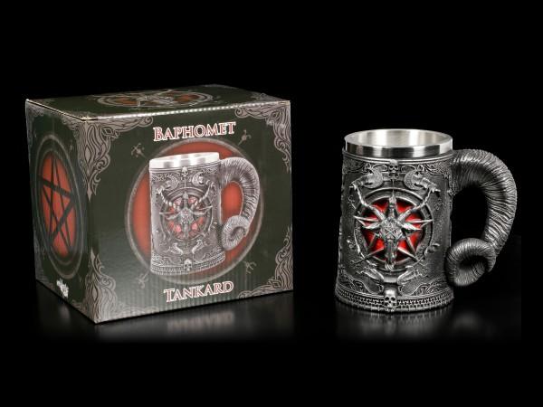 Tankard - Baphomet with Pentagram