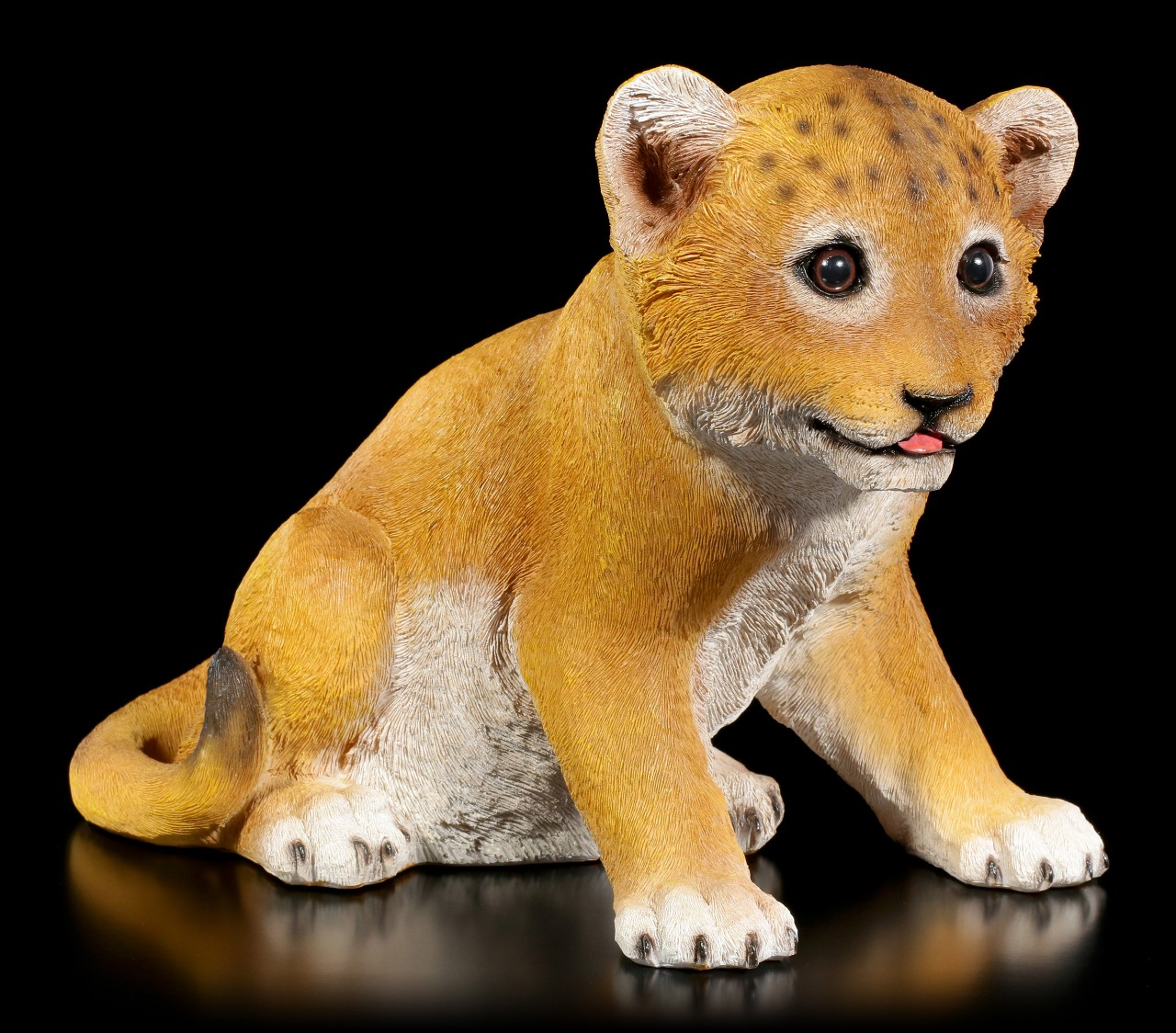Gartenfigur - Baby Löwe