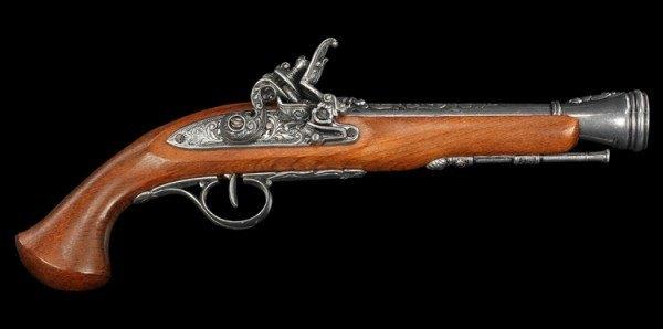 Steinschloßpistole - Replikat