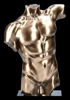 Akt Figur auf Monolith - Männer Büste