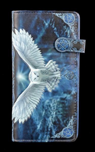 Geldbörse mit Eule - Awaken Your Magic - geprägt