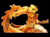Drachen Figur - Sweetest Moment - orange