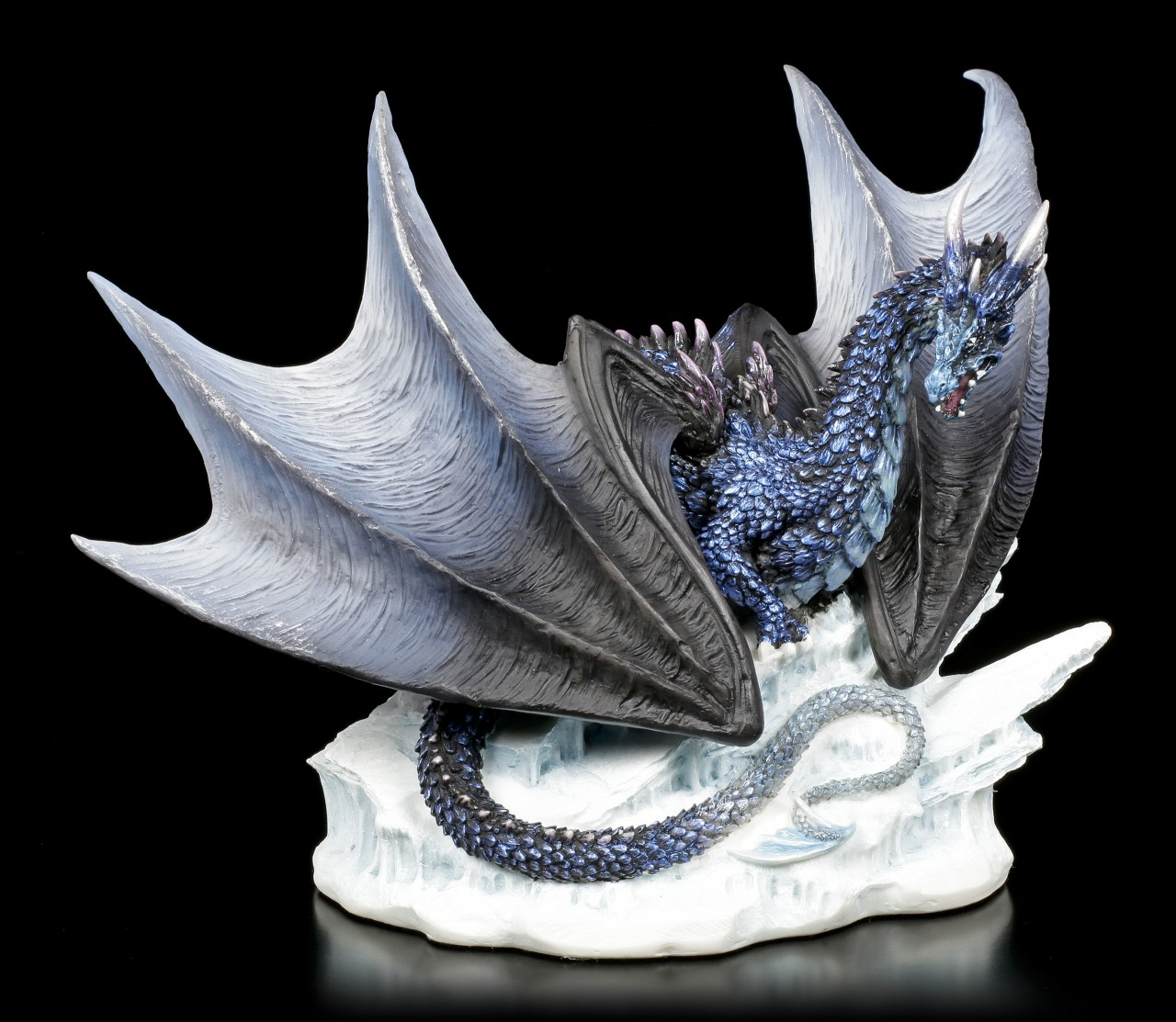 Dragon Figurine - Buran on Iceberg