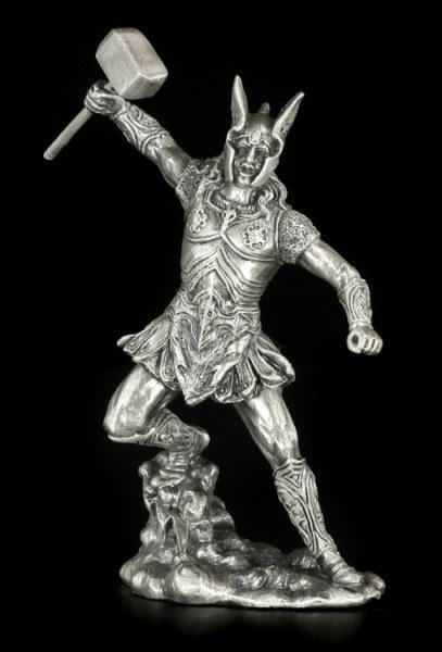 Thor Figur aus Zinn