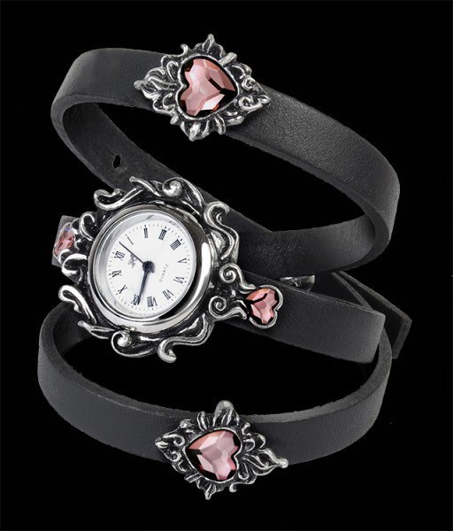 Heartfelt - Alchemy Gothic Wrist Watch