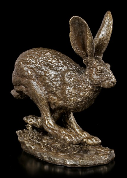 Hare Figurine - Fight by Andrew Bill