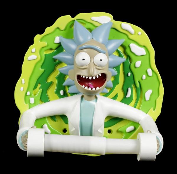 Rick and Morty Toilettenpapierhalter - Rick