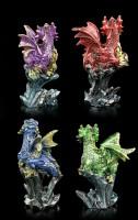 Drachen Figuren 4er Set - Dragonling Brood