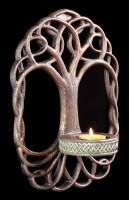 Wand Kerzenhalter - Tree of Life