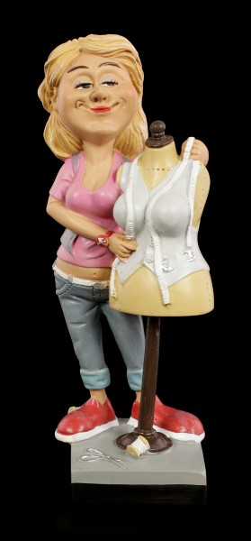 Funny Job Figurine - Dressmaker with Tailor's Dummy