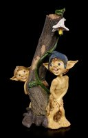 Pixie Goblin Figurines - Shower and Observer