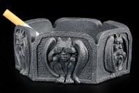 Gargoyle Aschenbecher - Nichts Böses