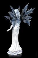 Große Elfen Figur - Adica mit kleinem Drachen