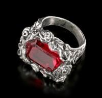 Alchemy Gothic - Blood Rose Ring