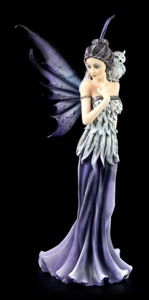 Fairy Figurine - Owl Queen Eulela in Plumage