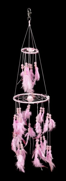 Dreamcatcher - Pink Rose