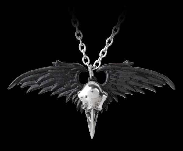 Alchemy Raben Halskette - Ravenger