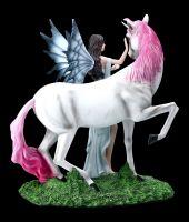 Elfen Figur - Mystique mit Einhorn