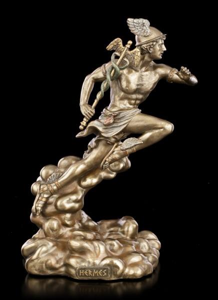 Hermes Figur - Griechischer Gott mit Hermesstab