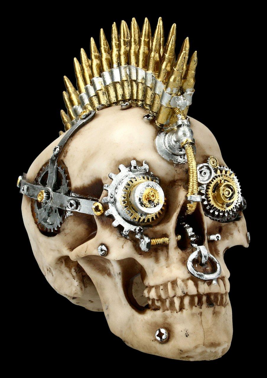 Steampunk Totenkopf - Gears of War groß