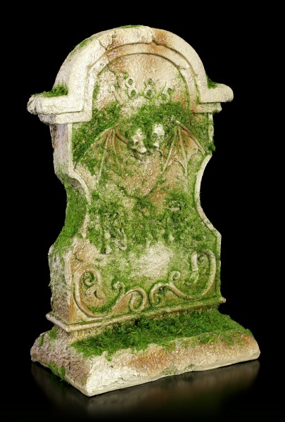 Tombstone Ornament covered with Moss