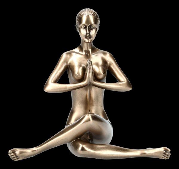 Female Nude Figurine - Yoga Anjali Mudra Position