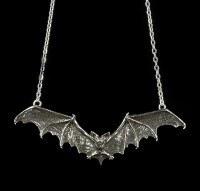 Gothic Bat - Alchemy Gothic Pendant