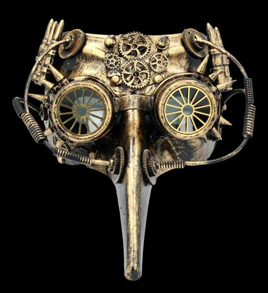 Steampunk Mask - Hypno Pest Doctor