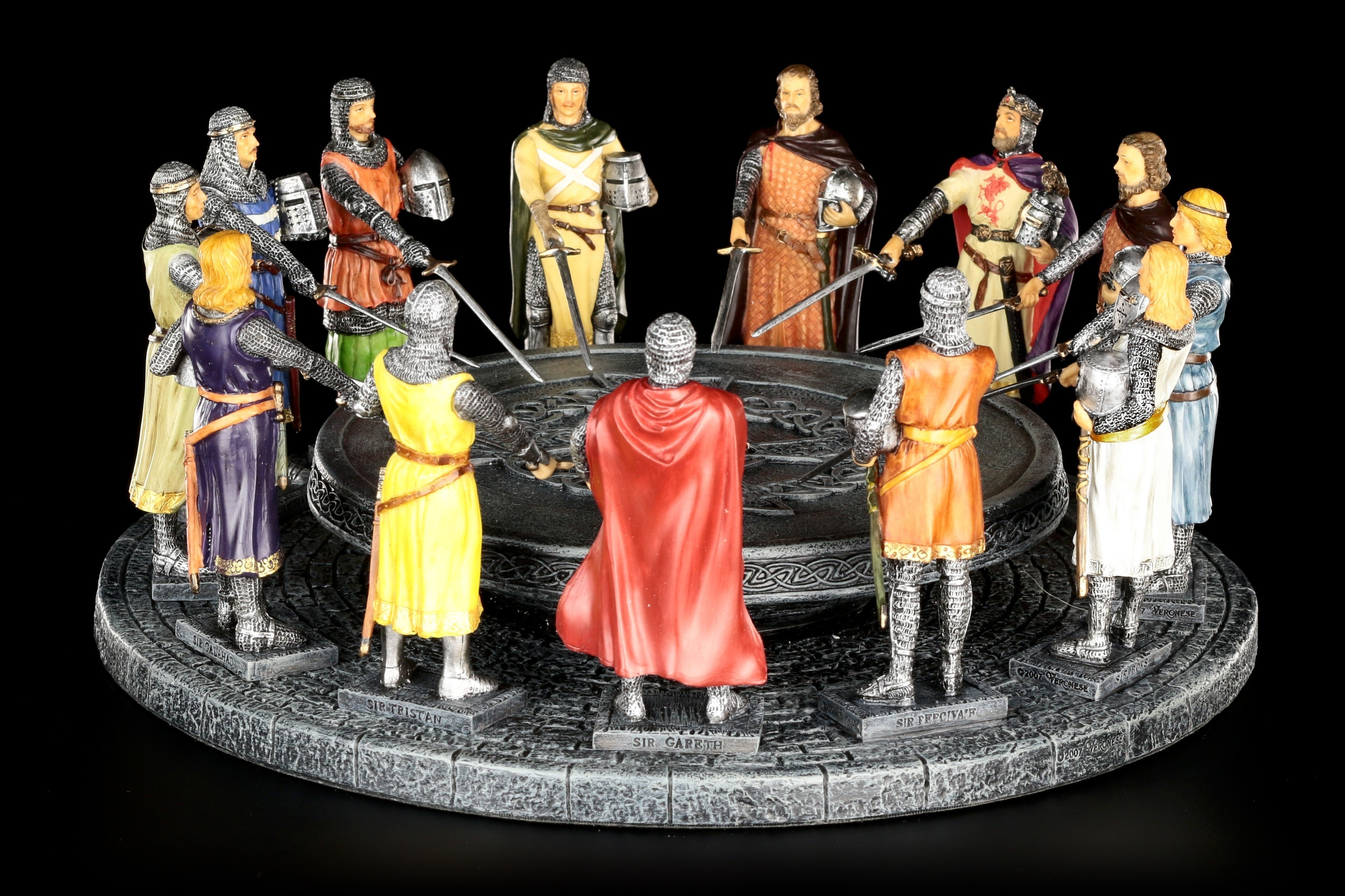 Ritter figuren handbemalt g nstig online kaufen www for 12 knights of round table