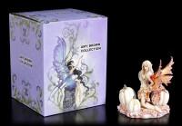 Elfen Figur - White Pumpkin Fairy by Amy Brown