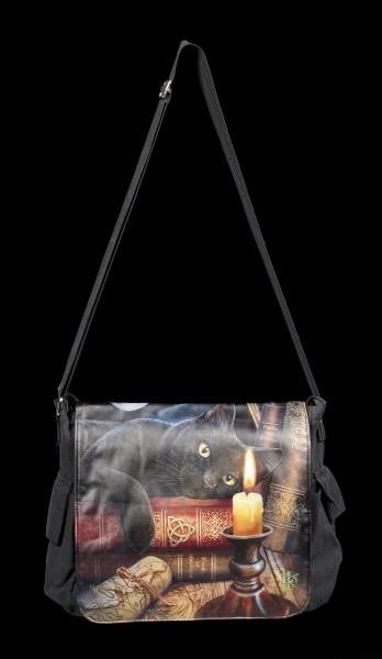 Umhängetasche mit Katze - Witching Hour