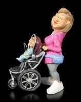 Funny Family Figur - Mutter mit Kinderwagen