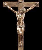 Crucifix with Rock - Jesus on Cross