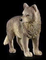 Stehende Wolf Welpen Figur