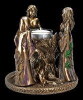 Teelichthalter - Dreifaltigkeits-Göttin