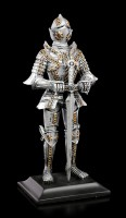 Knight Figurine with lowered Sword
