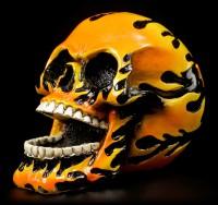 Skull - Flame Head