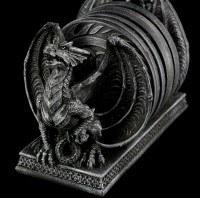 Untersetzer Set mit Halter - Pride of Dragons