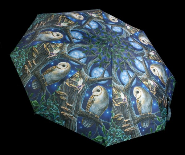 Umbrella with Owl - Fairy Tales