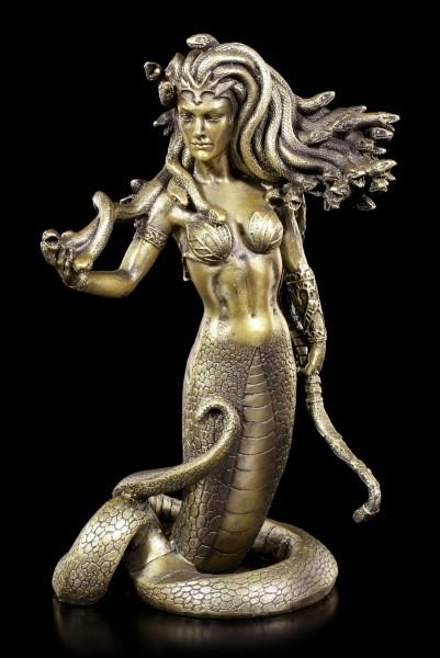 Medusa Figur - Stehend mit Bogen