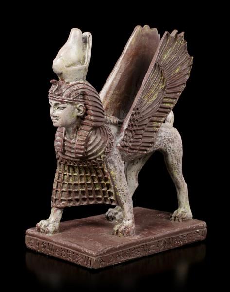 Walking Sphinx Figurine