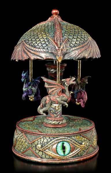 Spieluhr - Drachen Karussell