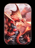 Metall Dose Feuerdrache - Fire Dragon